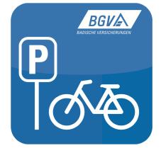 Der BGV-Fahrradstellplatz