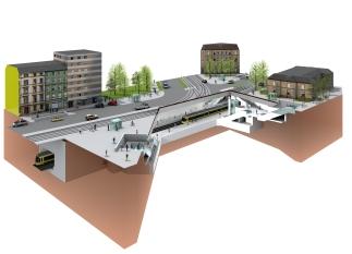 Ganztägige Öffnung des Stadtbahntunnels zwischen Europaplatz und Marktplatz